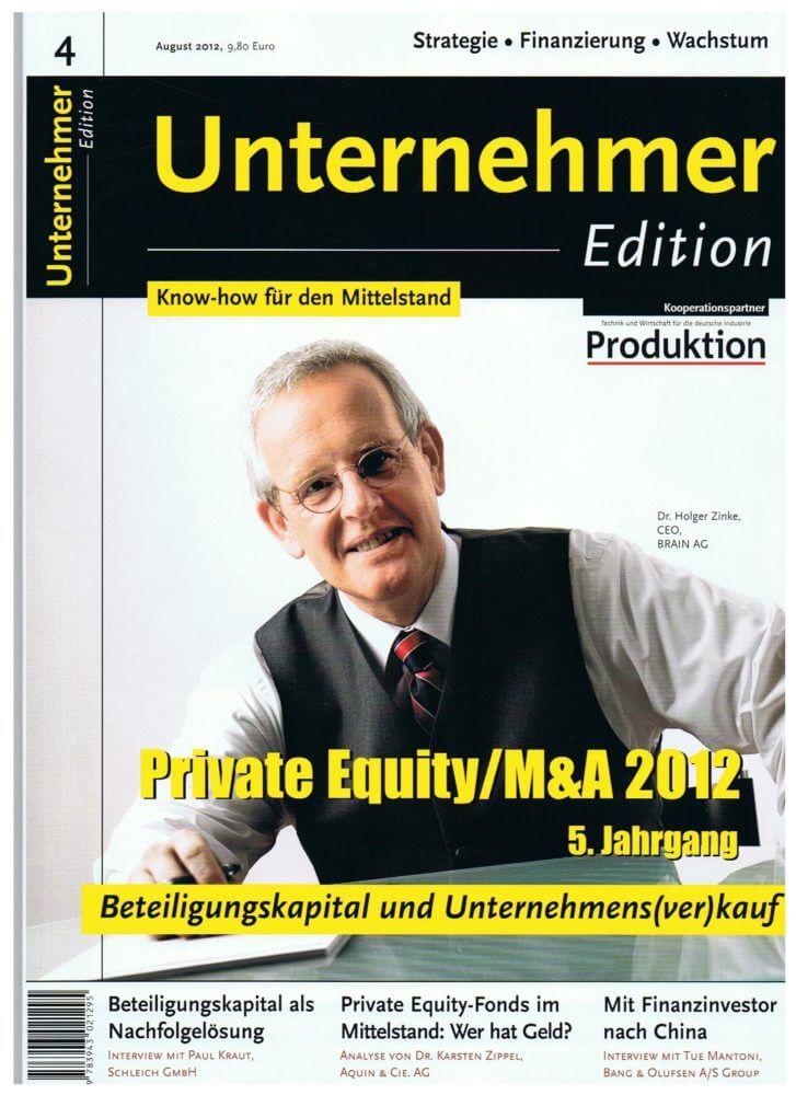 Beitrag von F&P in der Unternehmer Edition