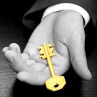 Partner auf Zeit - Schlüssel in der Hand eines Managers