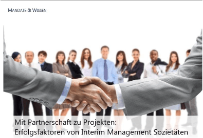 F&P Executive Solutions AG - Interim Sozietät