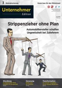 F&P in der Unternehmer Edition – Restrukturierung