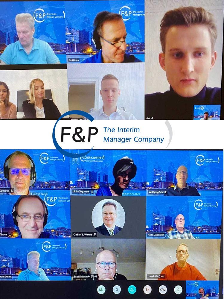 F&P Impressum - Video-Call mit Young Professionals
