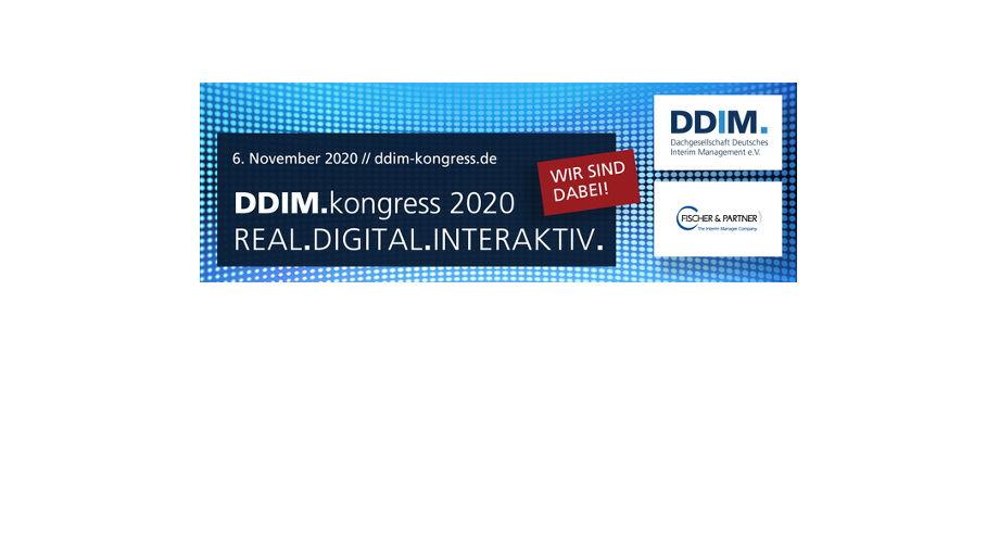 F&P ist Sponsor des DDIM.kongress 2020