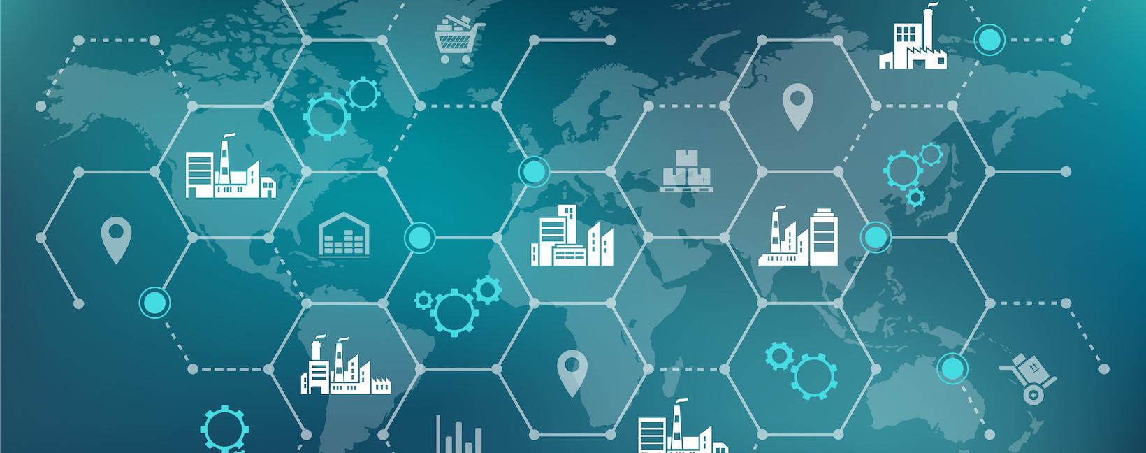 Digitalisierung Lieferketten